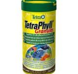 Корм для рыб TetraPhyll Granules (растительные гранулы) 250 мл