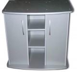Тумба для аквариума Jebo 3100R (серебро)