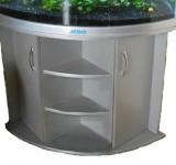 Тумба для аквариума Jebo 470T (серебро)