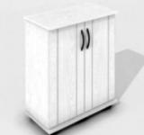 Тумба для террариумов Zelaqua 70л (610х310х730) белый