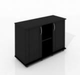 Тумба Zelaqua 180л (1010х360х730) чёрная