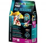 JBL ProPond All Seasons M - Осн всесез корм д/кои 35-55 см, плав палоч 14 мм, 0,5 кг/3л